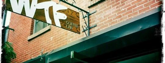 WTF Coffee Lab is one of NY Espresso.