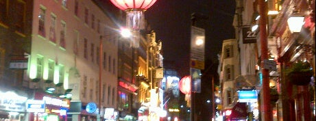 Chinatown is one of London as a local.