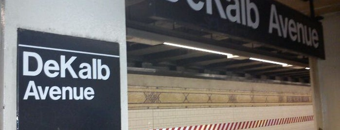 MTA Subway - DeKalb Ave (B/Q/R) is one of NYC insider's tips.