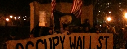 #OCCUPYWALLSTREET is one of Manhattan.