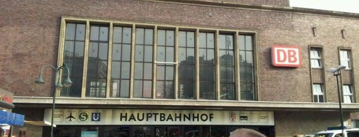 Düsseldorf Hauptbahnhof is one of DB ICE-Bahnhöfe.