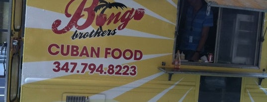 Bongo Brothers is one of NYC Food on Wheels.