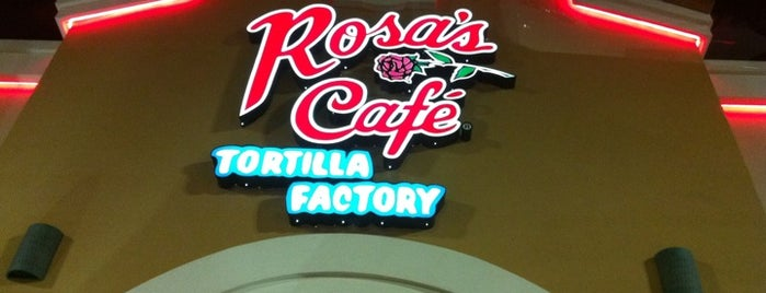 Rosa's Cafe Tortilla Factory is one of Texas.
