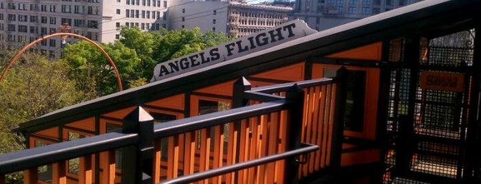 Angels Flight Railway is one of The Historical Landmarks of LA Noire.