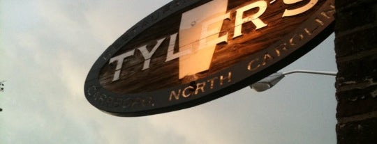 Tyler's Restaurant & Taproom is one of Chapel hill favorites.