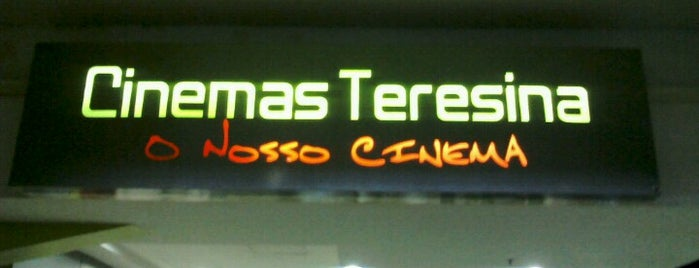Cinemas Teresina is one of Mayor list ;).