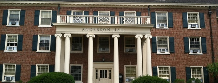 Anderson hall is one of Favorite Places.