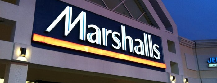 Marshalls is one of just a list of places.