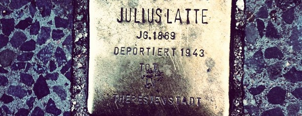 Stolperstein Julius Latte is one of Stolpersteine 1933 - 1945.