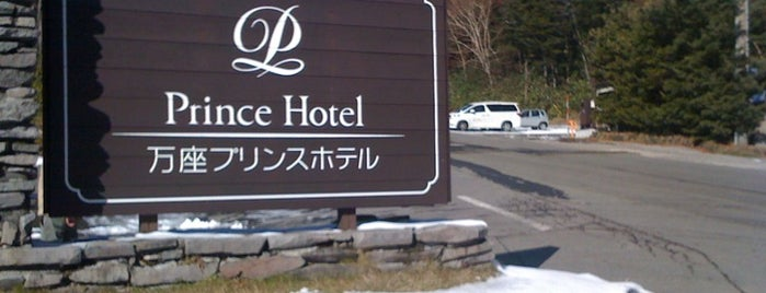 Manza Prince Hotel is one of 宿泊履歴.