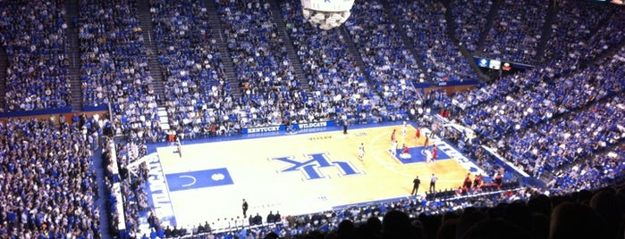 Rupp Arena is one of Basketball arena.