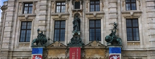 Bayerisches Nationalmuseum is one of StorefrontSticker #4sqCities: Munich.