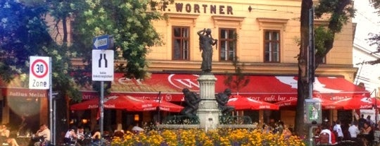 Café Wortner is one of vienna.