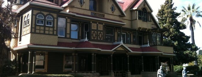 Winchester Mystery House is one of Haunted to-do list.
