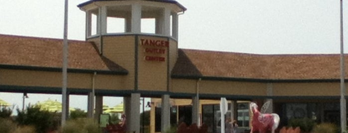 Tanger Outlet Nags Head is one of Places in the OBX.