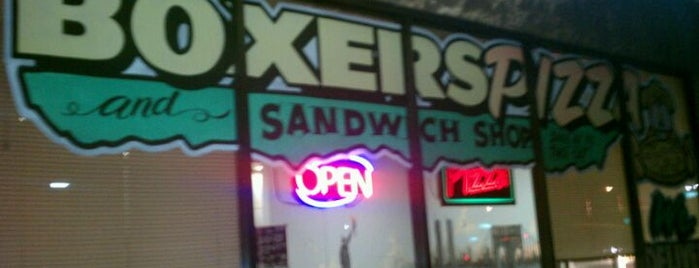 Boxers Pizza & Sandwich Shop is one of Vegas to do.
