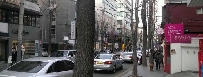 Garosu-gil is one of Seoul #4sqCities.