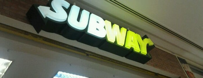 Subway is one of Midway Mall.