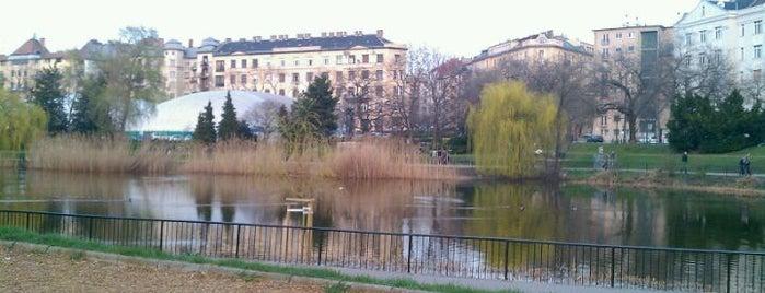 Feneketlen-tó is one of Must-visit Parks in Budapest.