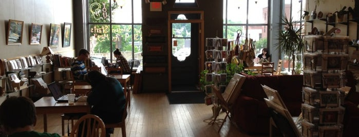 The Block Gallery & Coffeehouse is one of places to go.