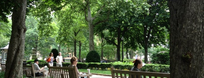 Rittenhouse Square is one of The Foursquare Insider's Perfect Day in Philly.