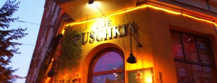 Café Puschkin is one of alt spaces.