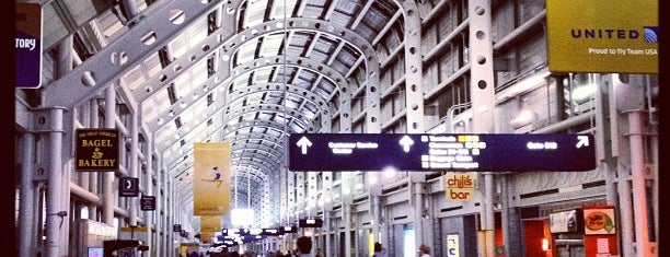 Chicago O'Hare International Airport (ORD) is one of My Airports.