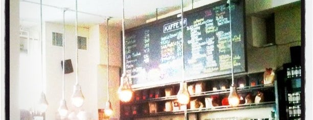 Kaffe 1668 is one of GW/NY Cafe Spots.