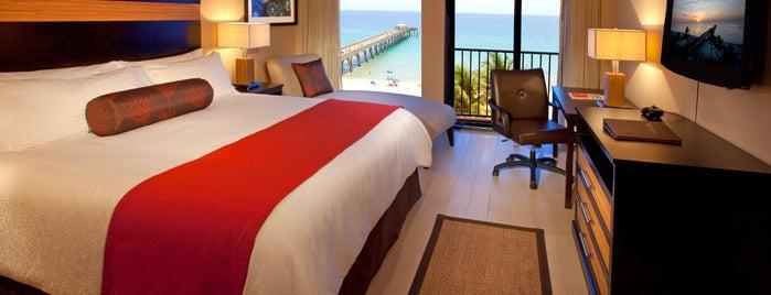 Wyndham Deerfield Beach Resort is one of Ft Lauderdale to Stuart FL.