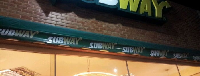Subway is one of Porto Seguro, Brazil.