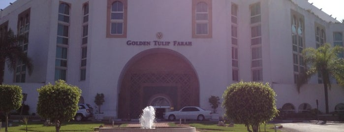Golden Tulip Farah Hotel Rabat is one of Hotels Round The World.