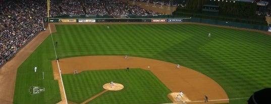 Comerica Park is one of Ballparks Across Baseball.