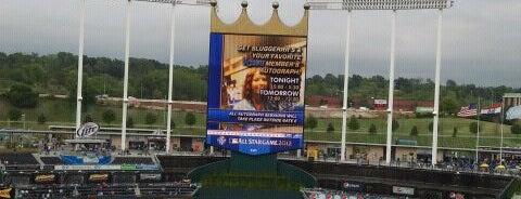 Kauffman Stadium is one of Ballparks Across Baseball.