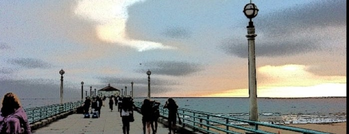 Manhattan Beach Pier is one of Stunning Views Around the World by Nokia.