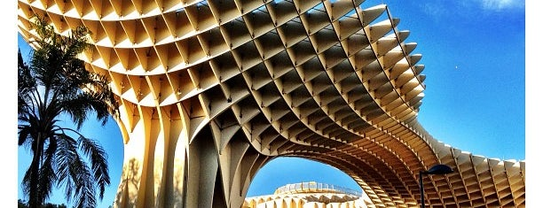 Metropol Parasol is one of Seville.