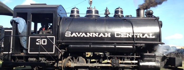 Georgia State Railroad Museum is one of Travel Guide to Savannah.