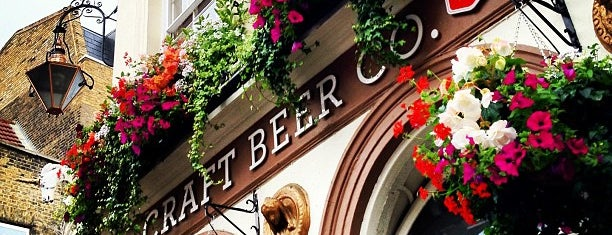 The Craft Beer Co. is one of London Pint.