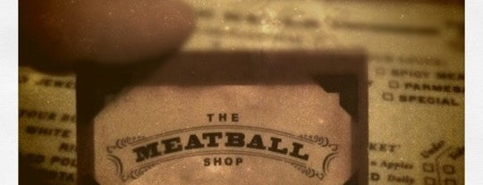 The Meatball Shop is one of Downtown Eateries to Love Up.