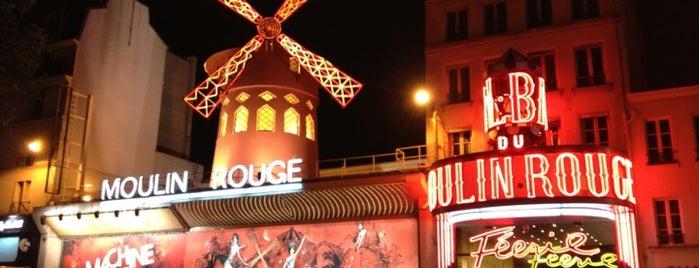 La Machine du Moulin Rouge is one of targets.