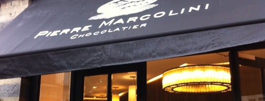 Pierre Marcolini is one of Brussels.