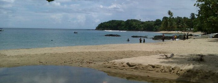 Mt. Irvine Beach is one of Tobago.