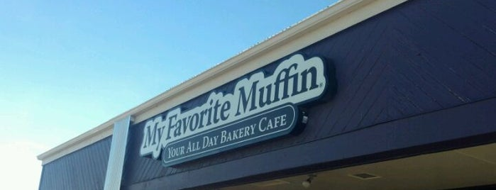My Favorite Muffin is one of Places To Try on a Rainy Day.