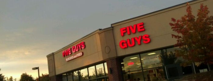 Five Guys is one of Restaurants visited.