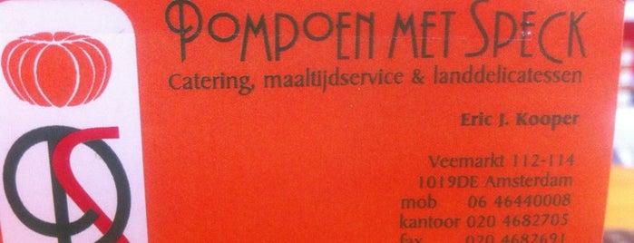 Pompoen met Speck is one of Amsterdam.