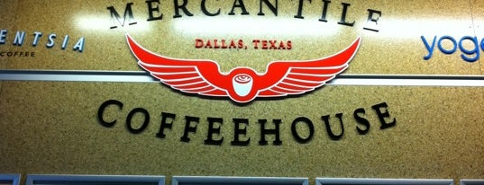 Mercantile Coffeehouse is one of North Texas Caffeine Fix.