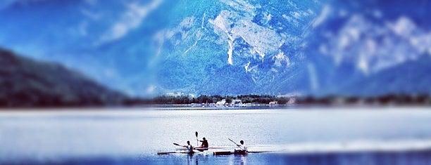 Lago di Caldonazzo is one of Trentino.