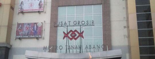 Pusat Grosir Metro Tanah Abang (PGMTA) is one of Top 10 favorites places in Banten, Indonesia.