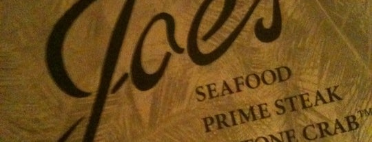 Joe's Seafood, Prime Steak & Stone Crab is one of Las Vegas's Best Seafood - 2012.
