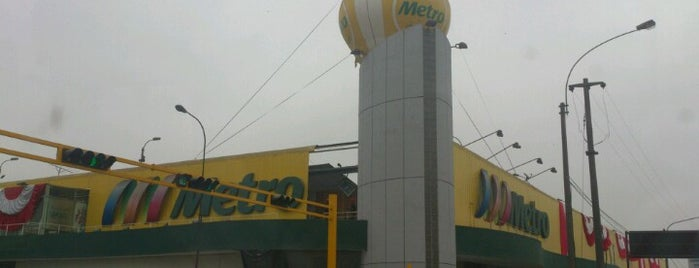 Metro is one of All-time favorites in Peru.