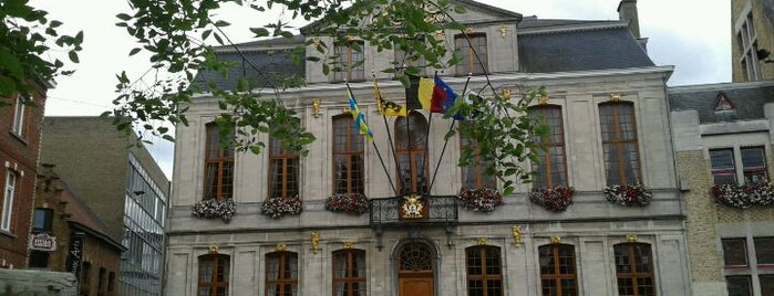 Stadhuis is one of Belgium / World Heritage Sites.